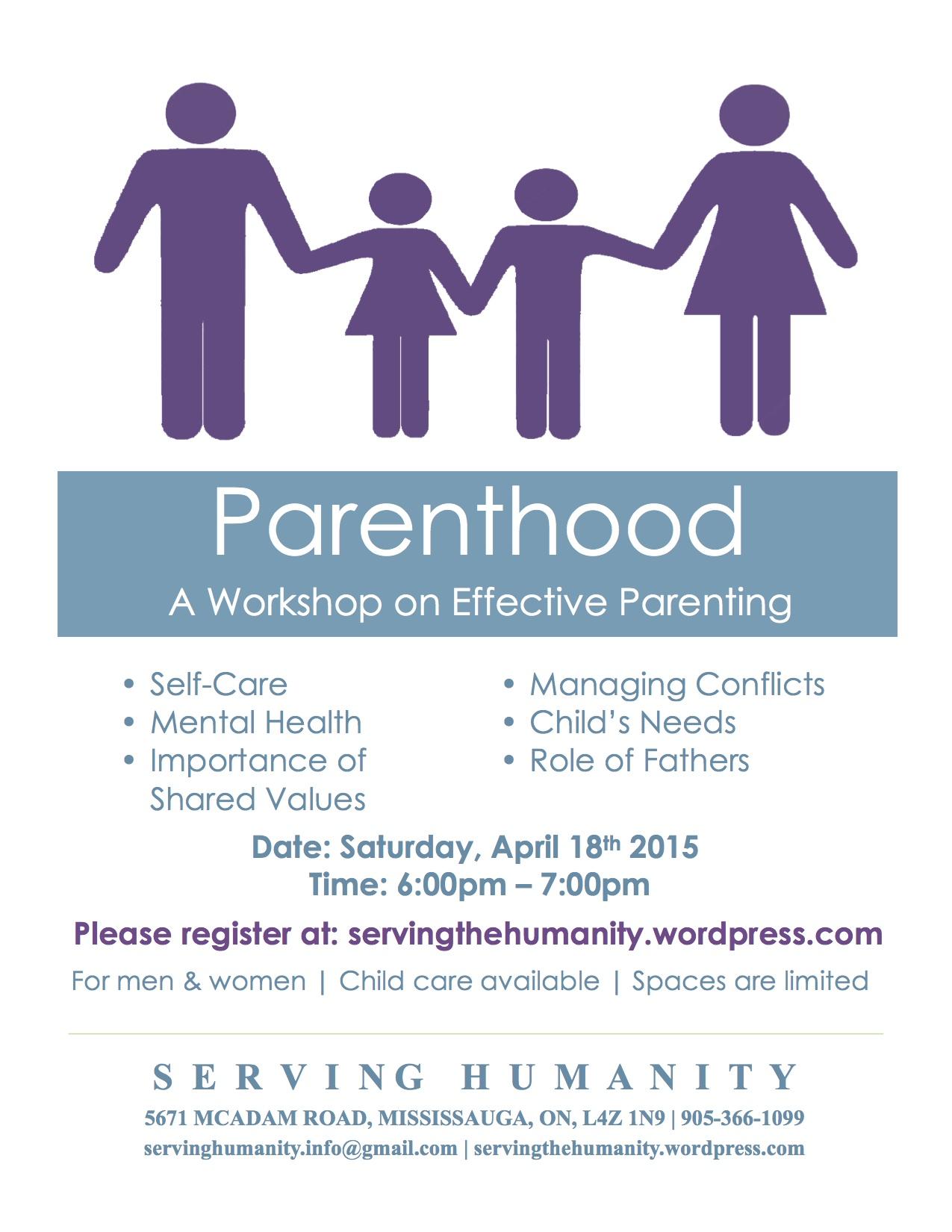Parenthood Workshop