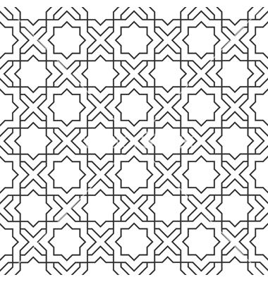 Islamic art patterns vector free download
