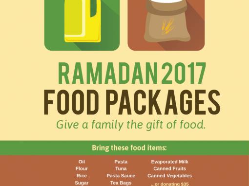 Ramadan Food & Toy Drive