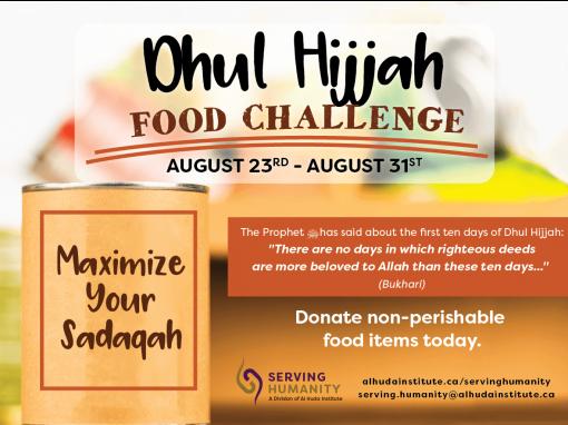 Dhul Hijjah Food Challenge