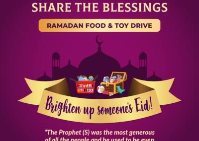 Ramadan Food and Toy Drive 2021