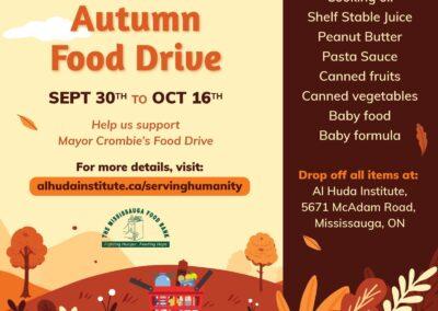 Autumn Food Drive 2021